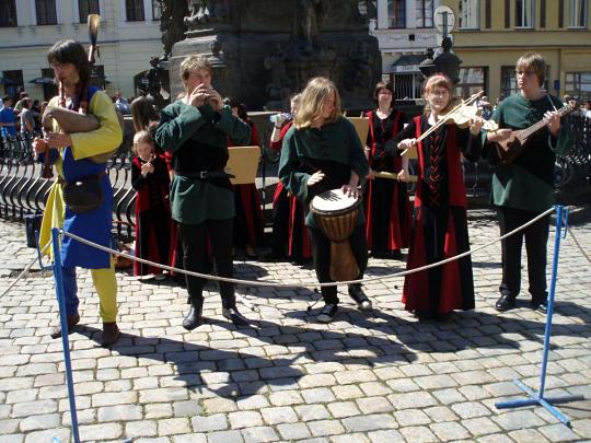 Открытие курортного сезона в Теплице 2011